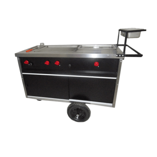 Carro de Hot-Dogs Marca DIAMANTTI Modelo NCHD-001